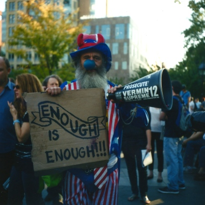 Occupy Wall Street, New York